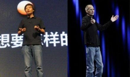 Chinese Steve Job and his Iphone Xiao Mi