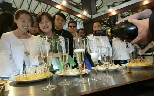French Champagne Consumption in China