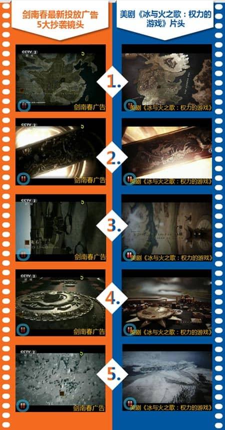 Jian Nan Chun copy ad