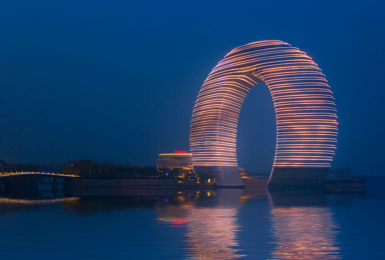 The new design of the Sheraton hotel in China