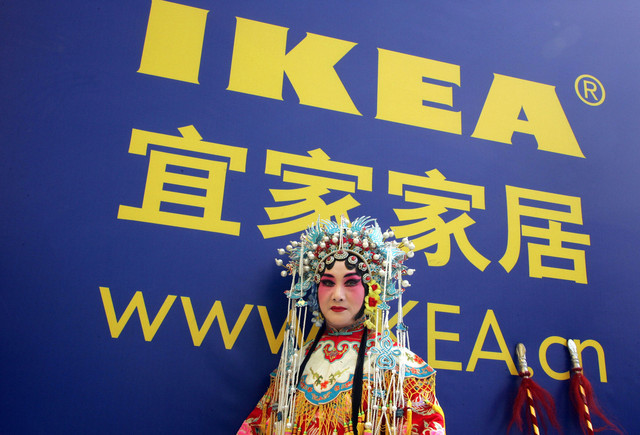 Ikea and its competition in China