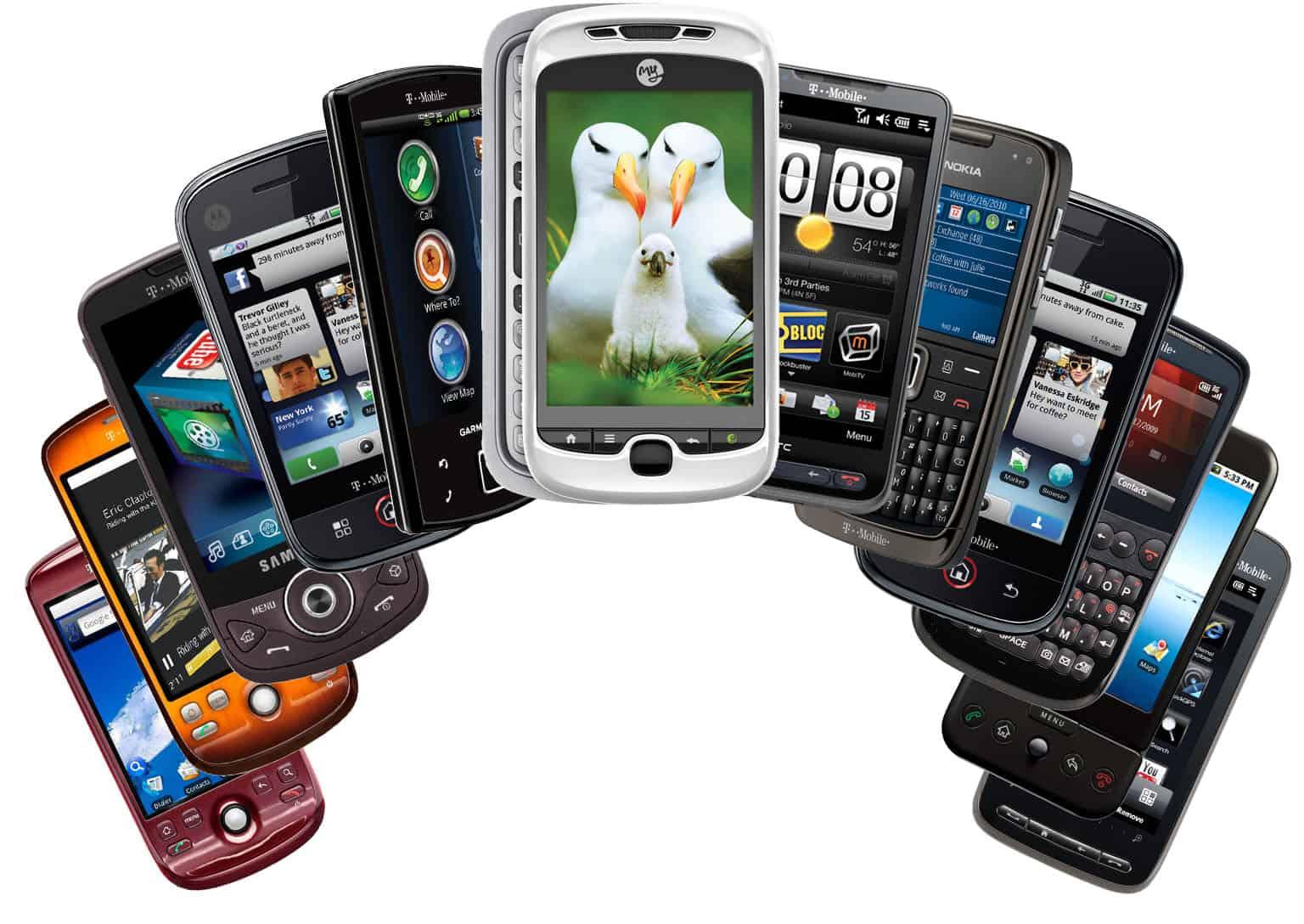 Major Smartphones companies in China