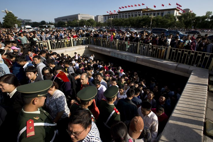 When 650 million of Chinese go travelling…