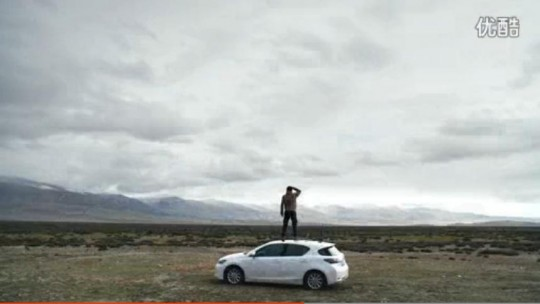 The advertising campaign of Lexus CT 200h