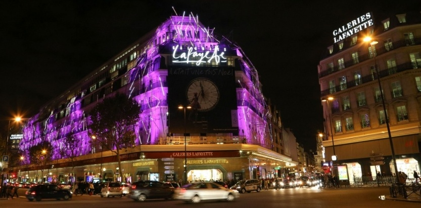 Chinese tourists spend less in Parisian department stores