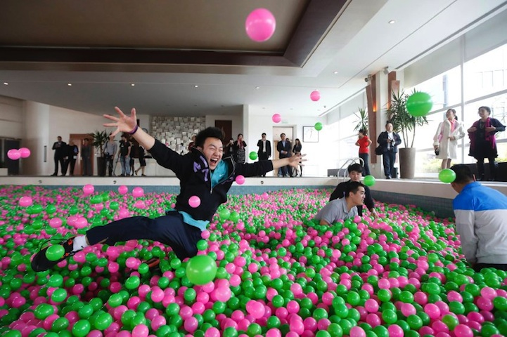 Promotion of the breast cancer prevention in China !