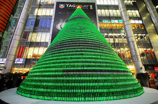 The 10 most unusual Christmas trees in China