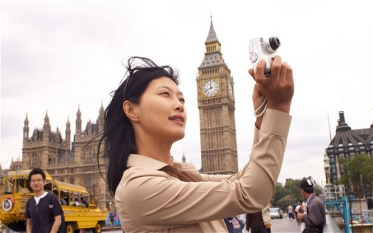 Chinese tourists in UK have increase by 132 % in 2013