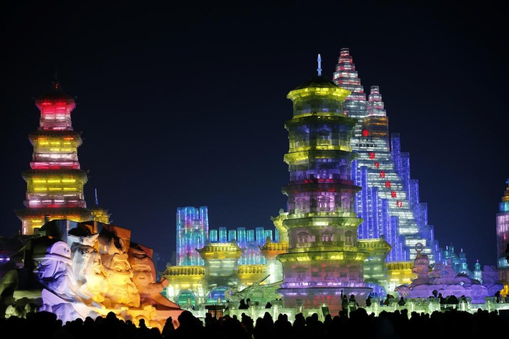 Harbin, Ice Festival : just wonderfull !