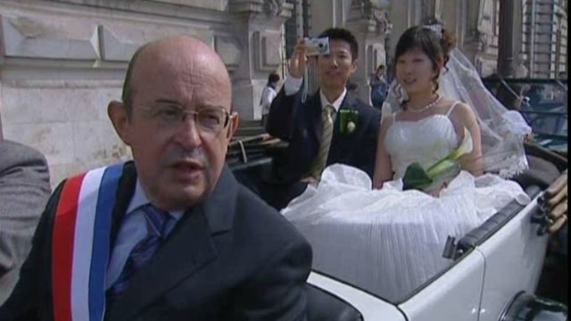 France : New destination to get married for Chinese