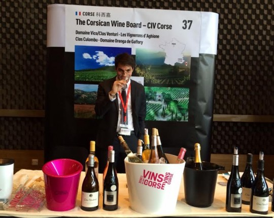 Interview of Vincent Cervoni, ambassador of Corsica Wines in China