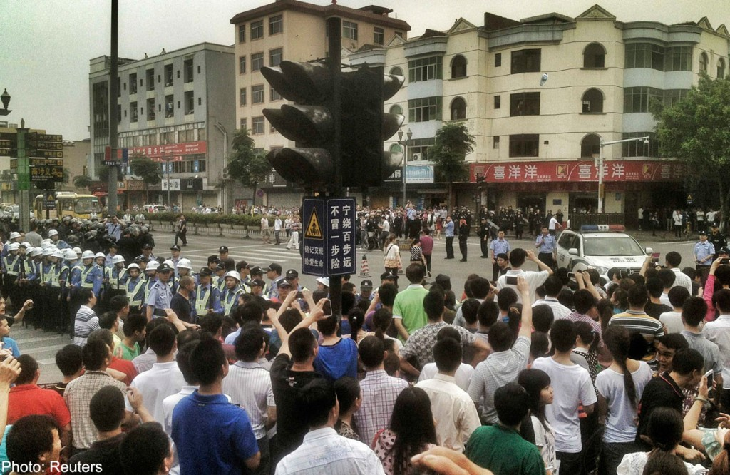 20140423_CHINA-STRIKE_Reuters