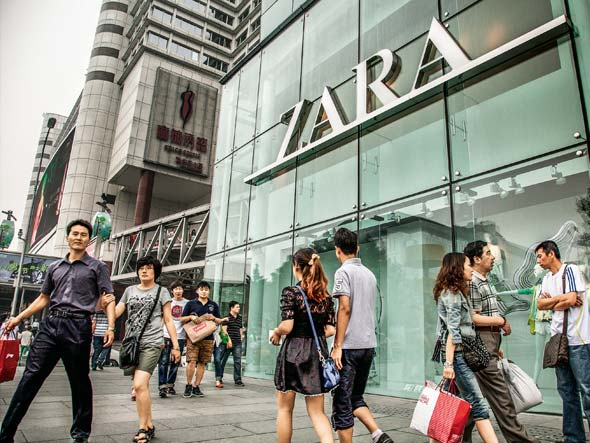 Zara decides to develop a more refined strategy in China ...