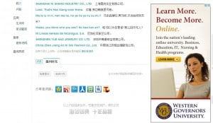 online promotion banner