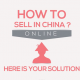 How to sell online in China ?