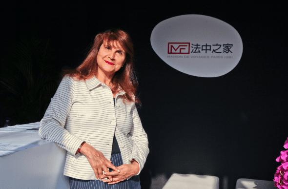 """Interview of Patricia Tartour, founder of the """"Maison de la Chine et de l'Orient"""""""