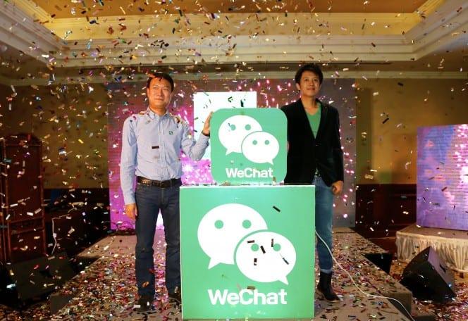 wechat launch