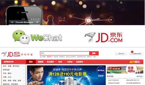 Wechat and JD