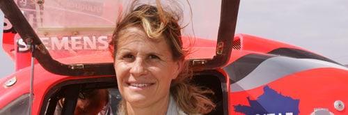 Interview of Isabelle Patissier, climbing & Rallye world Champion