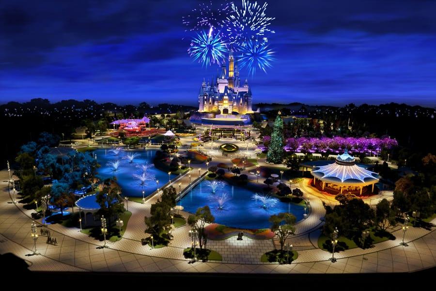 The total investment in Disneyland Shanghai :  5.5 billions of dollars