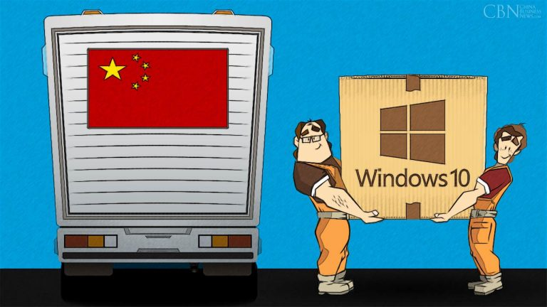 China has its own version of Windows 10!