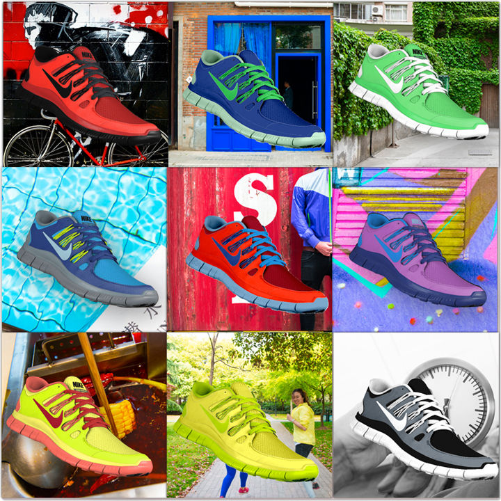 nike free starts campaign wechat Game