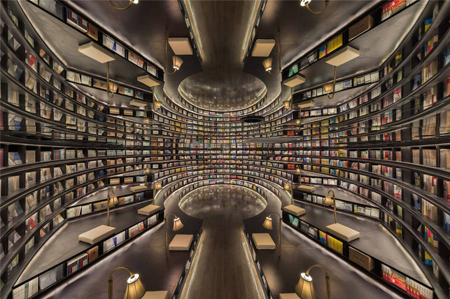 The World S Most Beautiful Library Is Located In Shanghai