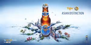 How to change the poor quality perception of 'made in Asia'. Tiger Beers accept the challenge.