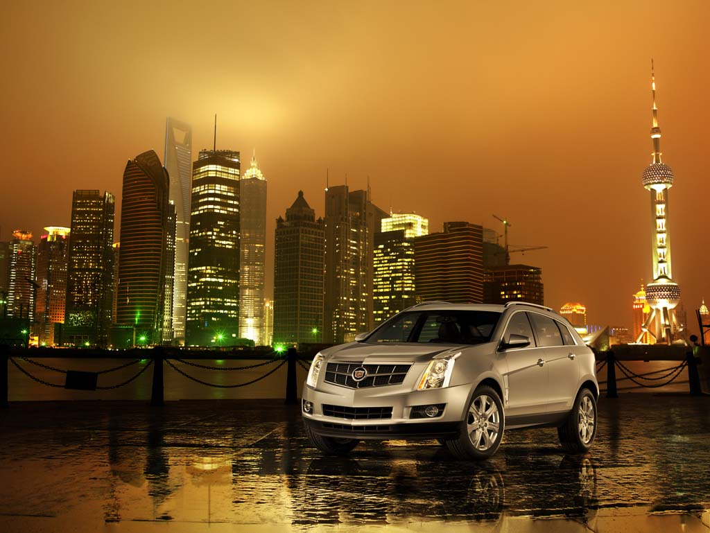 Cadillac SRX 2010. X09CA_SR043MX (China)