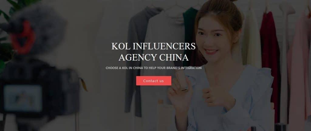 Chinese Social Media and Kols - agency