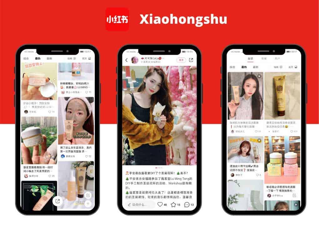 chinese social media - Lu Min Tang - Little Red Book KOL