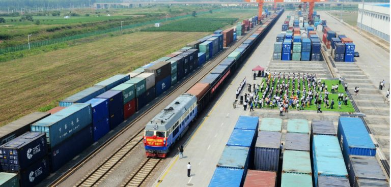 The new silk road will encourages trade with China