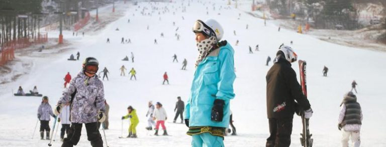 Skiing industry in China, growing with the Olympic Games 2022