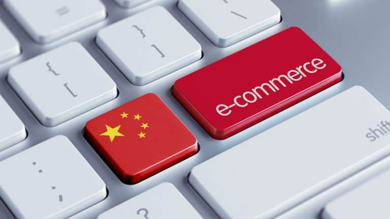 The main competitors in the Chinese e-commerce market