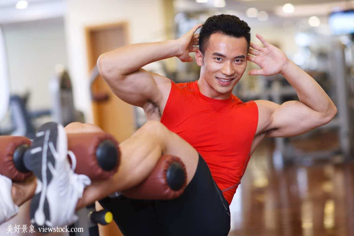 fitness chinese men