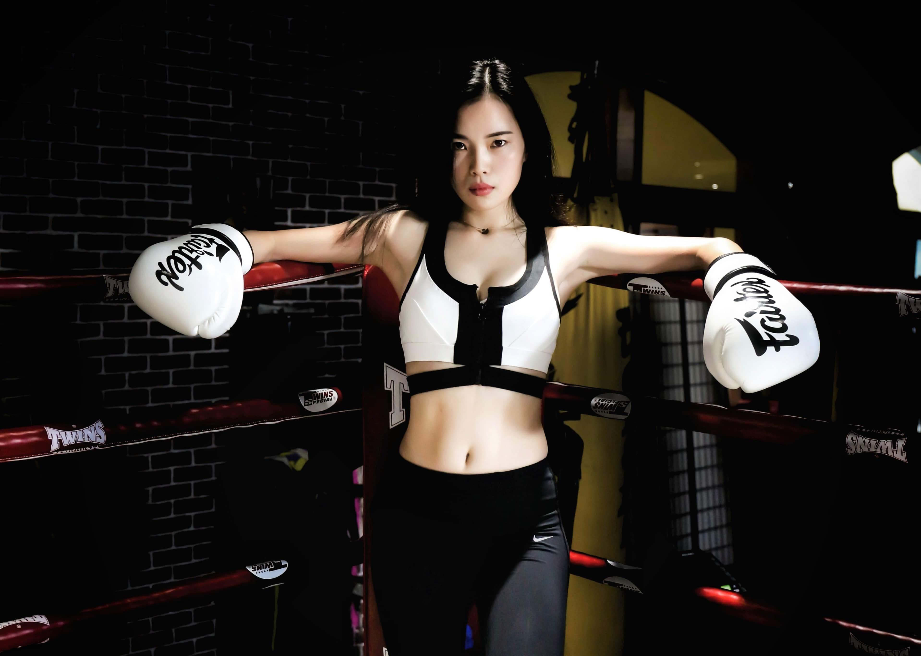 women boxing china
