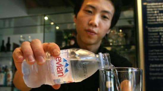 Why is Evian so expensive in China ?