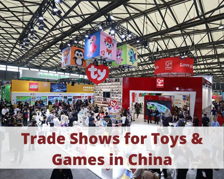Trade Shows for Toys & Games in China: what options do you have?
