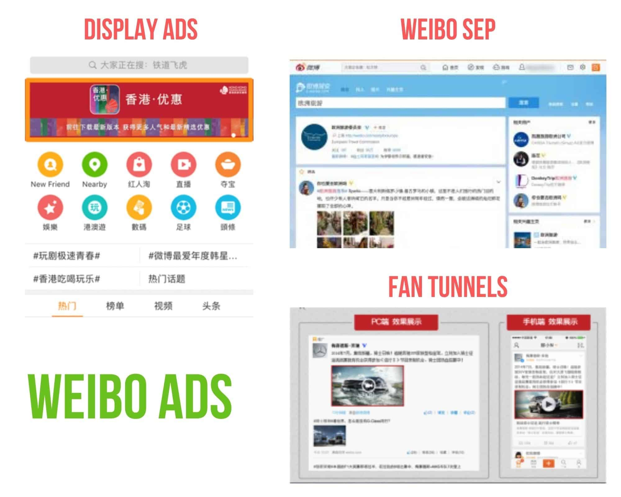 Chinese Social Media - Sina Weibo Paid Ads