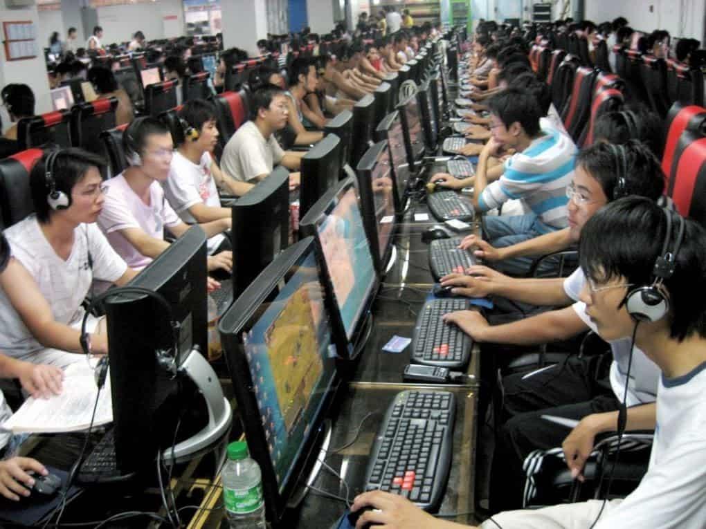 china internet café