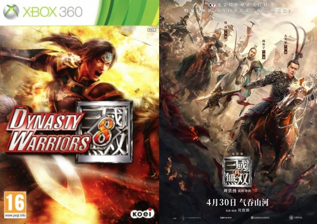 'Dynasty Warriors' Video game and Movie adaptation