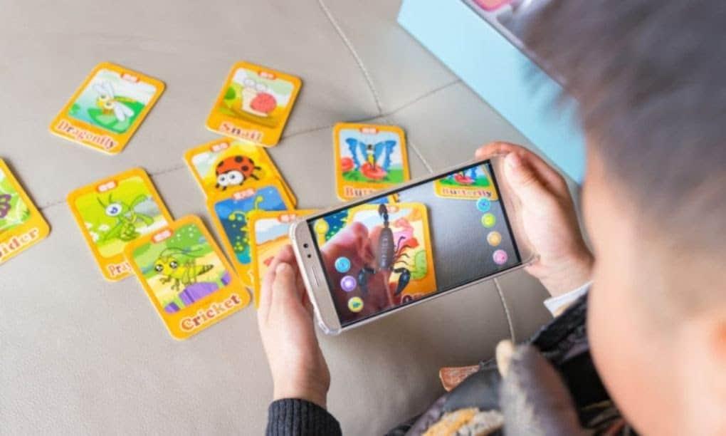 AR educationnal game china