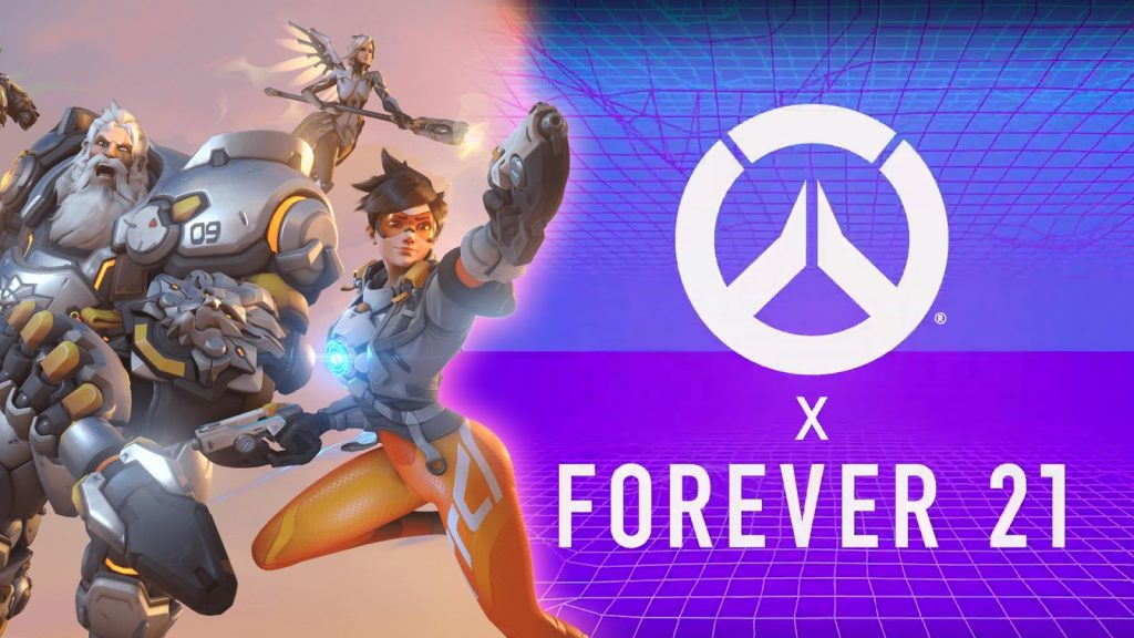 Forever 21 & Overwatch - china brands collab