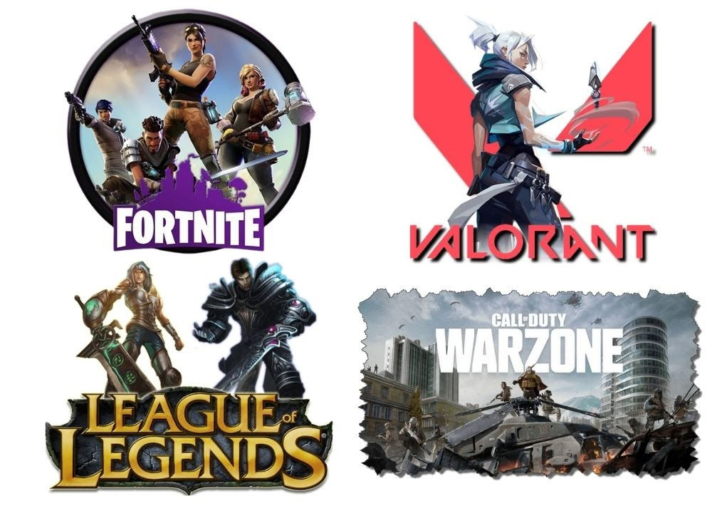 Four of the biggest games involved with Tencent