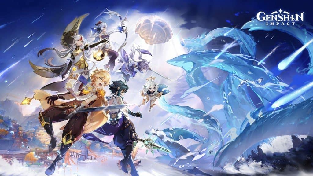 genshin impact visuel - chinese video game