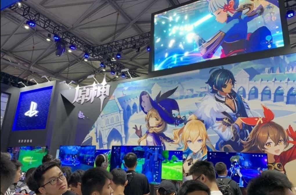 Genshin Impact x Sony - china brand collab