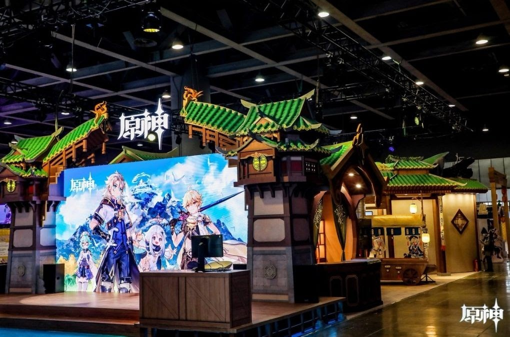 Genshin Impact's Exhibition in China
