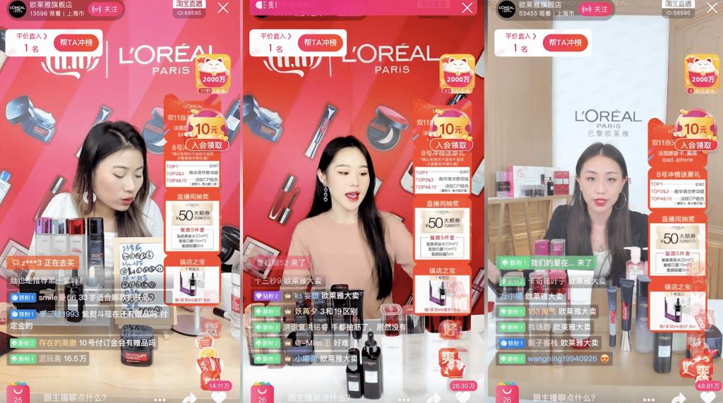 Chinese Social Media and Kols - Tmall Live Streaming