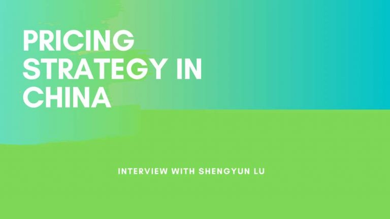 Interview with Shengyun Lu on the influence of pricing on Chinese consumers